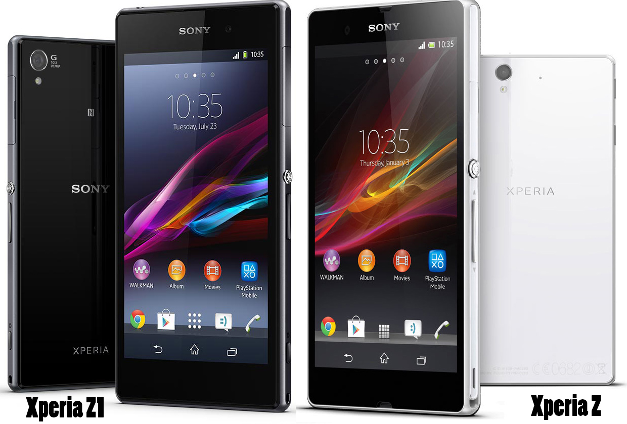xperia z1 vs xperia z comparison by features and price techgangs. Black Bedroom Furniture Sets. Home Design Ideas
