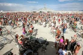 find friends at Burning Man Festival 2014