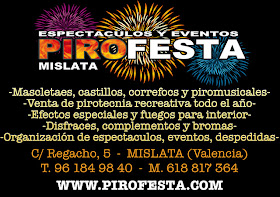 ESPECTACULOS Y EVENTOS PIROFESTA