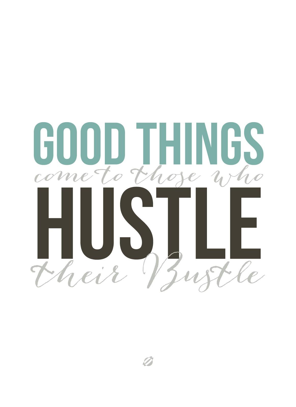 LostBumblebee 2013 Hustle Bustle  Free PRINTABLE