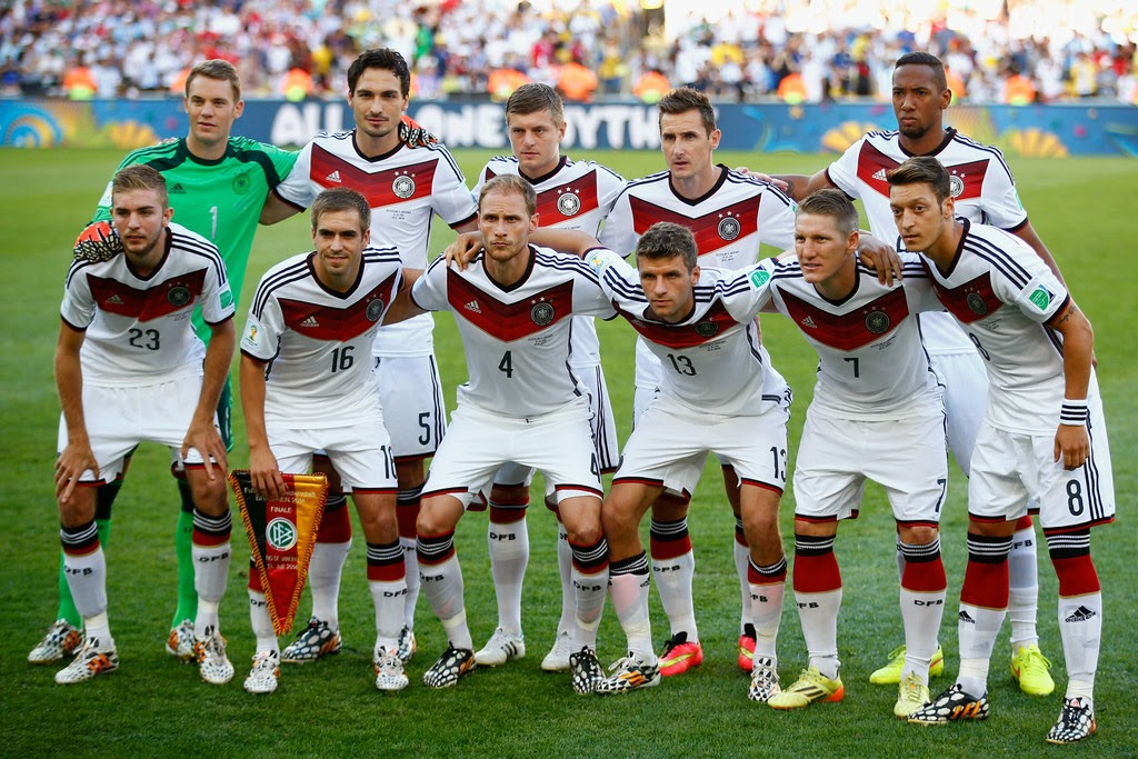 Team Photo Germany FIFA World Cup Champions 2014