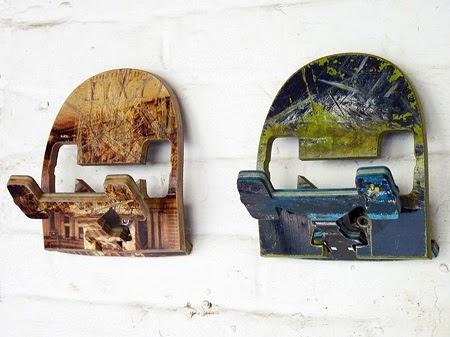 Percheros con Patinetas Recicladas, Muebles Ecoresponsables y Originales