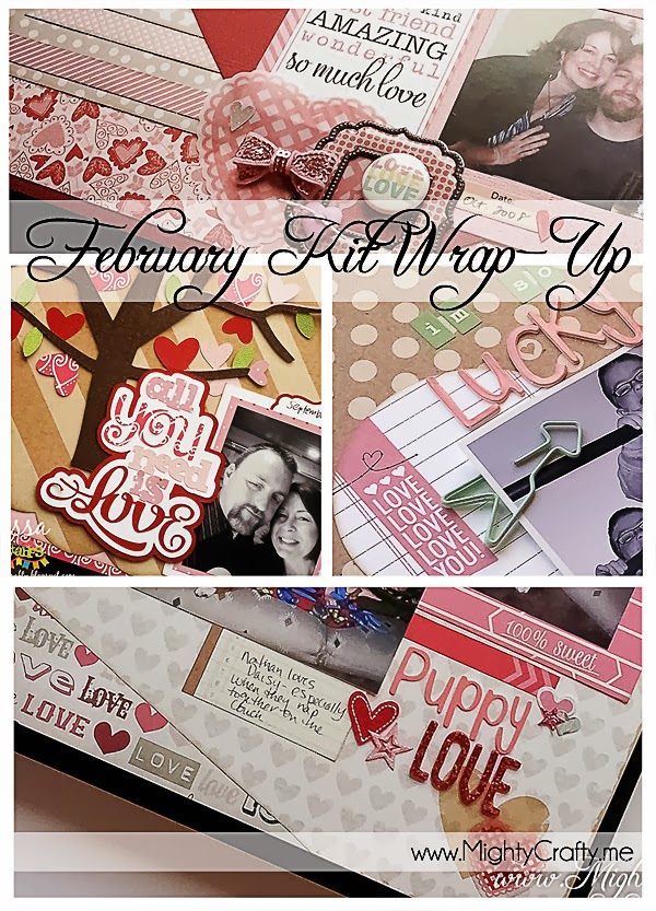 February Kit Wrap-Up -- www.MightyCrafty.me