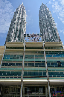KLCC From the back view