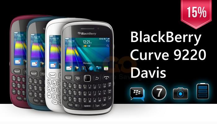 Spesifikasi dan Harga BlackBerry Curve 9220 Davis » HP Terbaru 2015