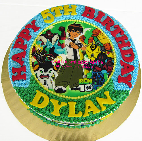 Birthday Cake BEN10