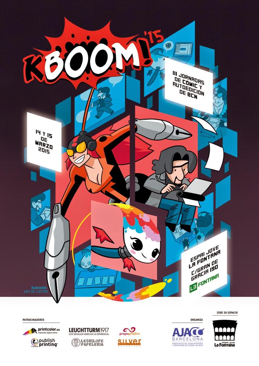 Jornadas KBOOM! de cómic y autoedición