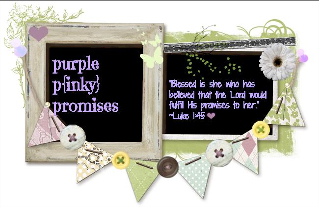 Purple P{inky} Promises