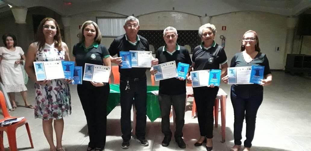 Academia Capanemense de Letras e Artes prestigiando o VII Prêmio Literário Escritor Marcelo...