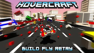 Screenshots of the Hovercraft: Build fly retry for Android tablet, phone.