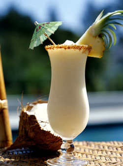 The Classic Umbrella Drink While On A Tropical Vacation Is Pina Colada History Of Appears To Start In Puerto Rico