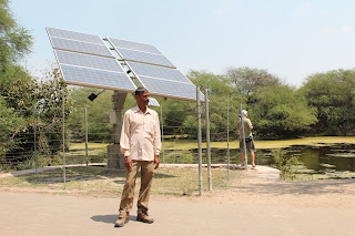 Solar Panels India - Rural Electricity Generation by Solar PV