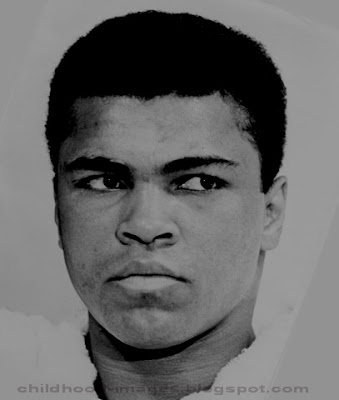 boxer muhammad ali mini biography and childhood pictures