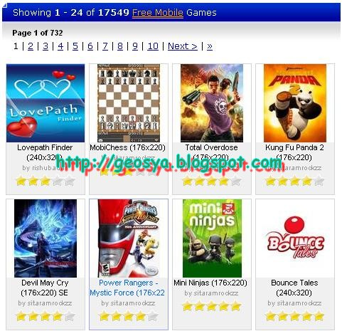 Daftar Situs Download Game Hp Cross