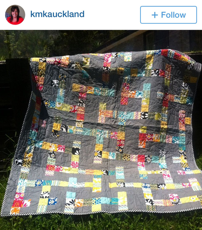 MAZED Quilt - Made by Karina @kmkauckland // Pattern by Kristy Daum