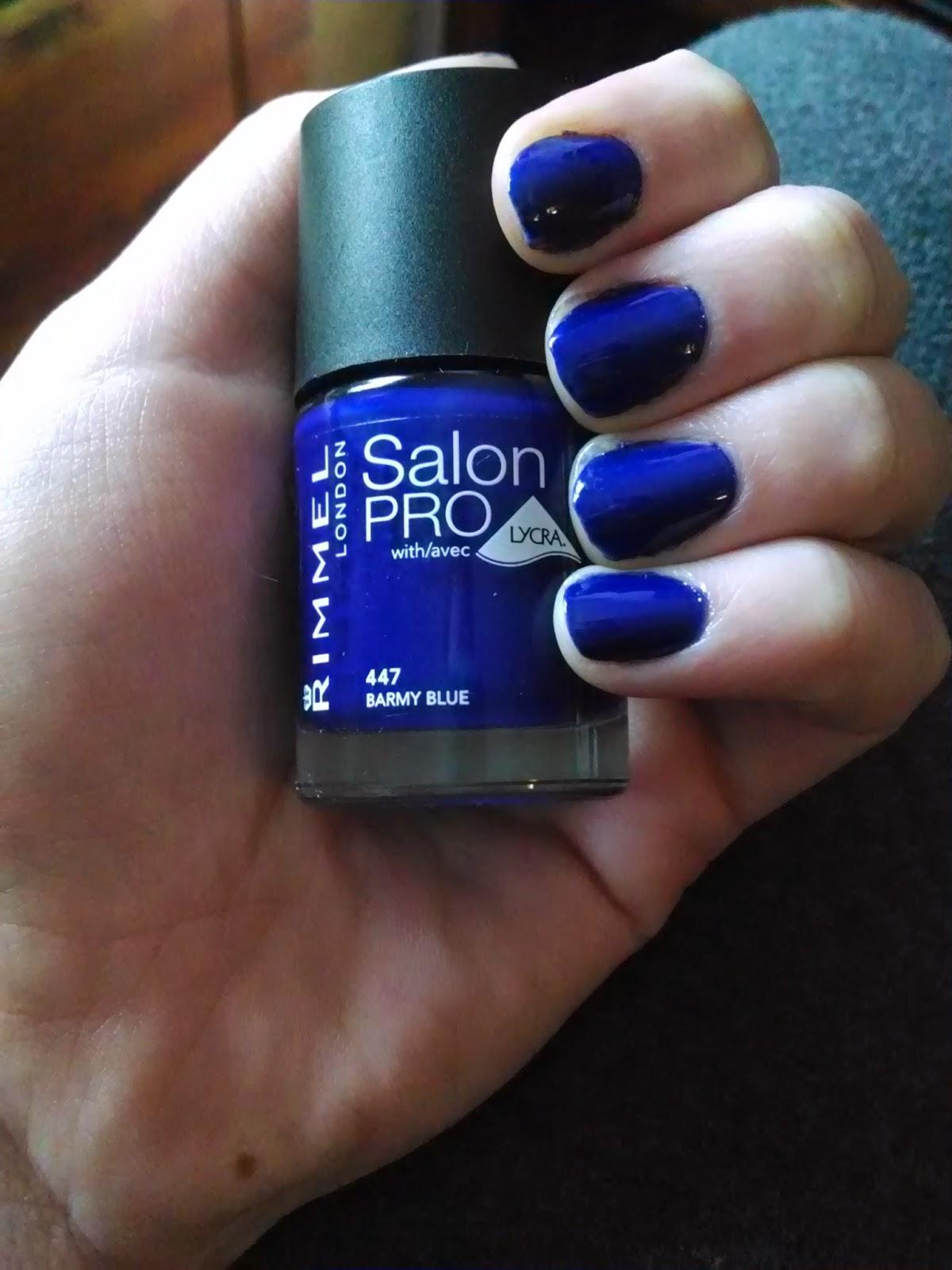 Rimmel Salon Pro 447 Barmy Blue