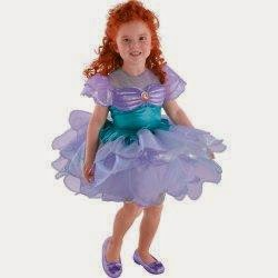 The Little Mermaid Ariel Ballerina Toddler / Child Costume Only $19.99.  Disney Sleeping Beauty ...
