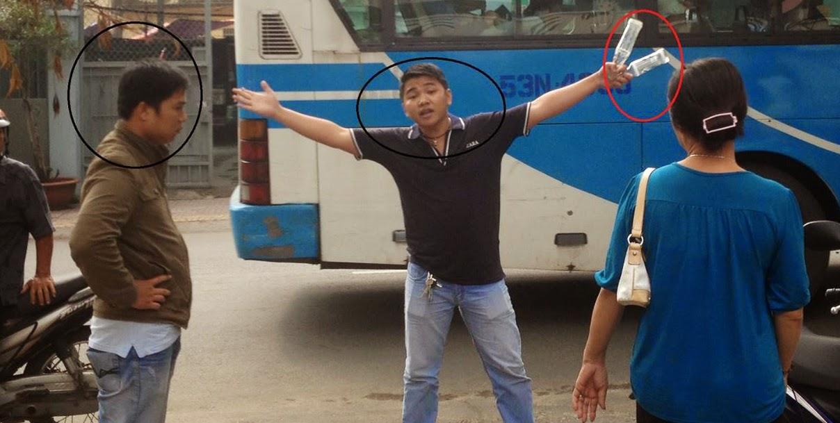 Lộ mặt 2 tên Việt gian cố tình tông xe, gây thương tích đối với anh Nguyễn Bắc Truyển