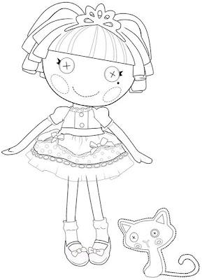 muñeca lalaloopsy con gato