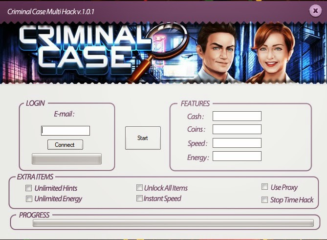 criminal case hack cheats trainer tool free energy