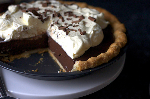 DeGomez Diner: Chocolate Pudding Pie