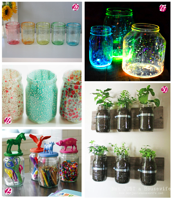 Crafted 30 Things To Make With Jars