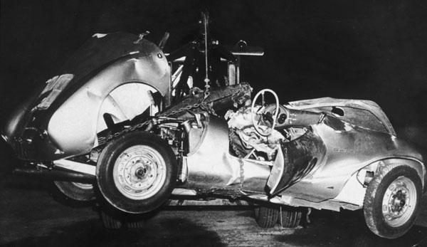 La malédiction de la Porsche 550 de James Dean Ouch7