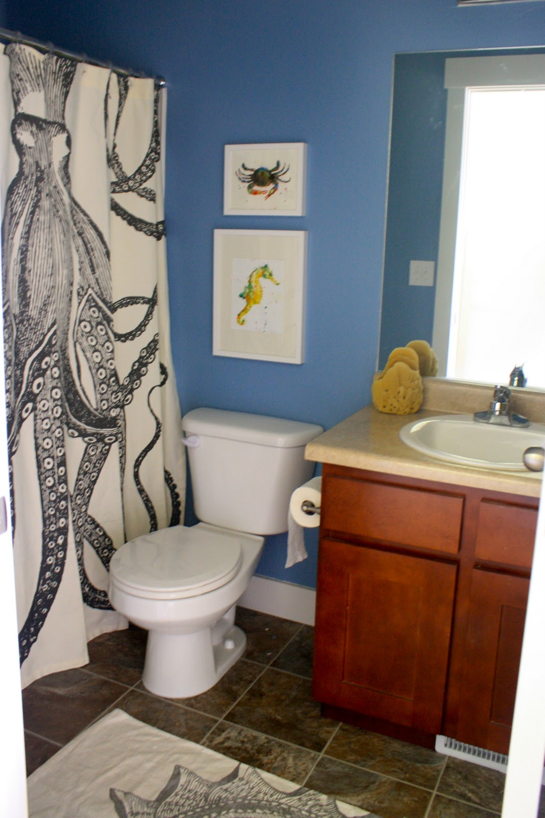 Small Bathroom Color Ideas On A Budget jett's bathroom done! - house of jade interiors blog