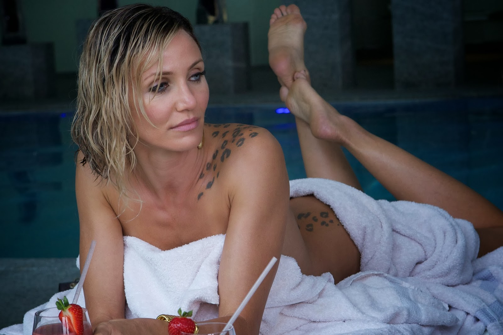 "Cameron Diaz Devours In The Crime Thriller ""The Counselor"""