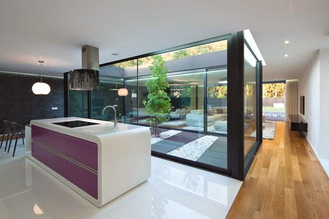 Casa vanguardista en portugal minimalistas 2015 for Interiores de casas minimalistas 2015
