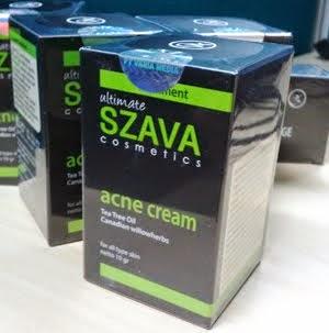 Testimony Szava Acne Cream