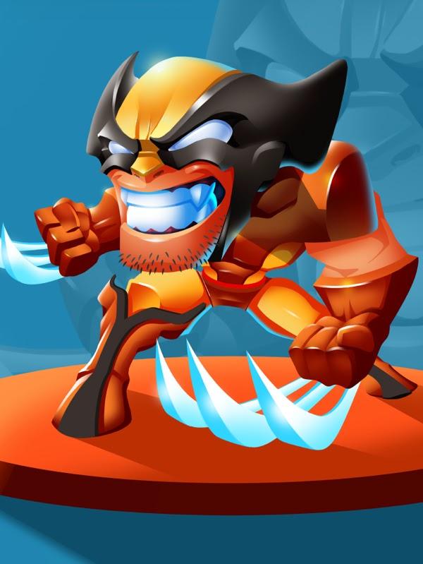 Wolverine funny 3d Fant Art