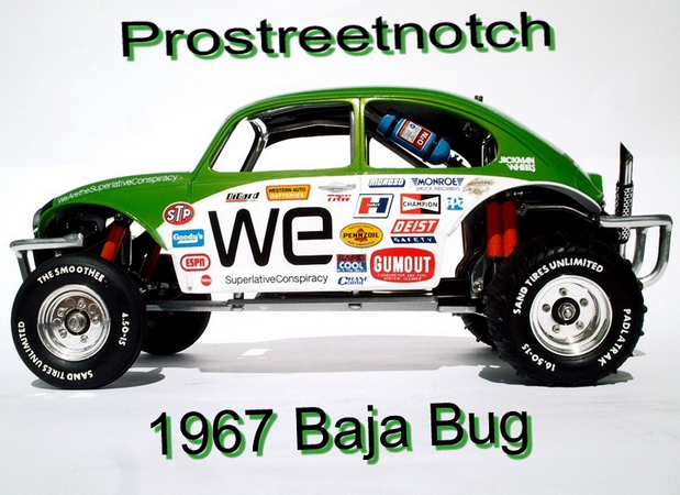 1967 Baja Bug Projekt