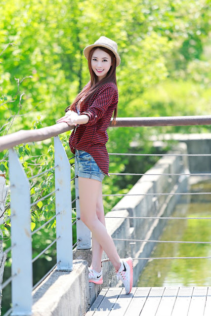 3 Ju Da Ha - Outdoor Photo Shoot - very cute asian girl-girlcute4u.blogspot.com