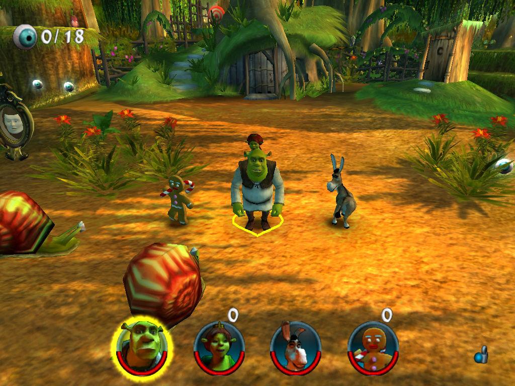 Game Shrek 2 Team Action PC - free download PC Games