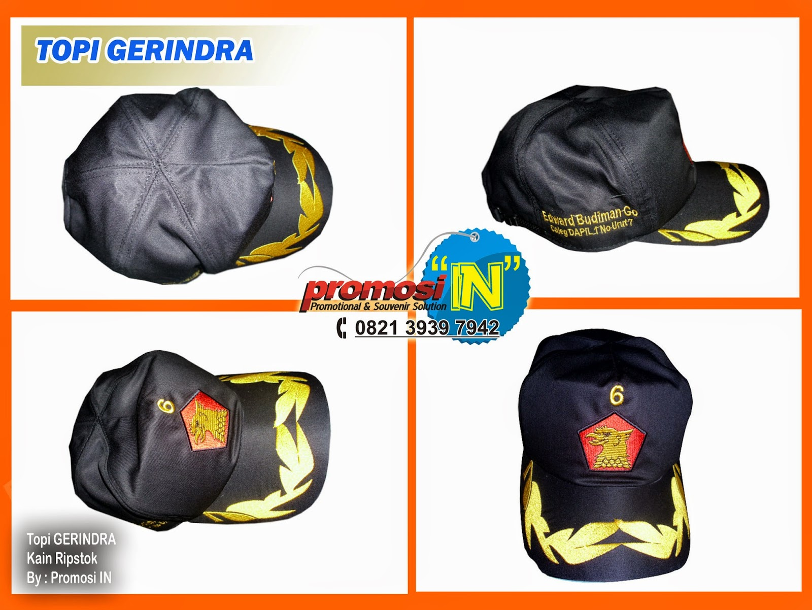 Topi, Supplier Topi Partai, Topi Desain Sendiri, Topi Online
