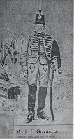 Oud-strijder Jean Joseph Goovaerts (1792-1893)