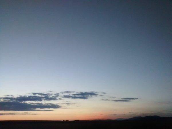 puesta de sol bonita