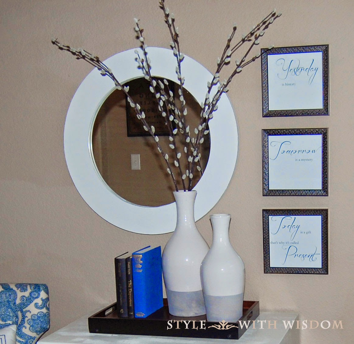DIY Mirror Makeover!