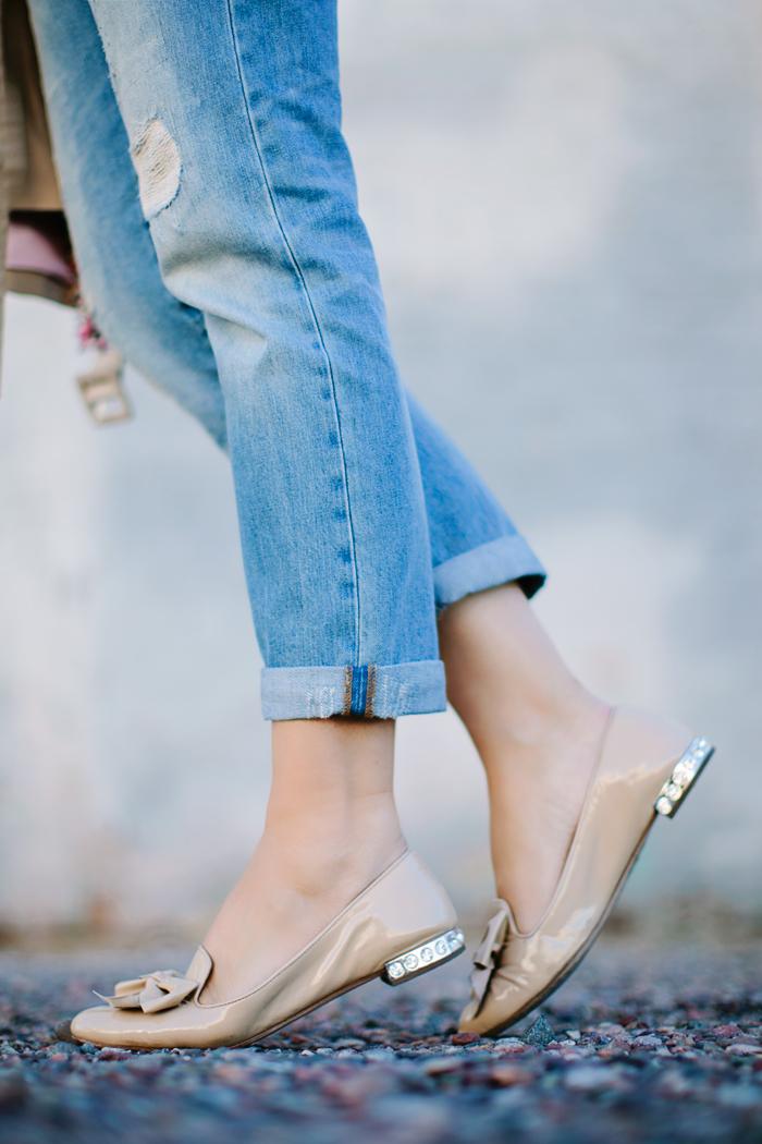 Gap, Distressed, Boyfriend, Denim, Jeans, Kate Spade, Fringe, Pink, Tan, Trench, Coat, Nude, Silk, Button Down, Equipment, Blouse, Shirt, ALC, A.L.C, Waffle, Sweater, Kendra Scott, Lariat, Phara, Tassel, Necklace, YSL, Pink Lingerie, Rouge Volupte, Lipstick, Illesteva, Leonard II, Tortoise, Round, Sunglasses, Shopbop, Sale, Miu Miu, Smoking Slipper, Flats, Crystal, Heel, Patent, Bow, Slippers, Saint Laurent, Monogramme, Cassandre, Flap, Cross Body, Bag, Fall, Caitlin Lindquist, A Little Dash of Darling, Phoenix, Scottsdale, Arizona, Blog, Personal Style, Blogger, Street Style, Outfit Inspiration, Outfit Ideas,