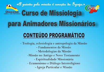 COMIDI da Diocese de Itabira- Cel. Fabriciano promove curso de Missiologia para Animadores Missionários.