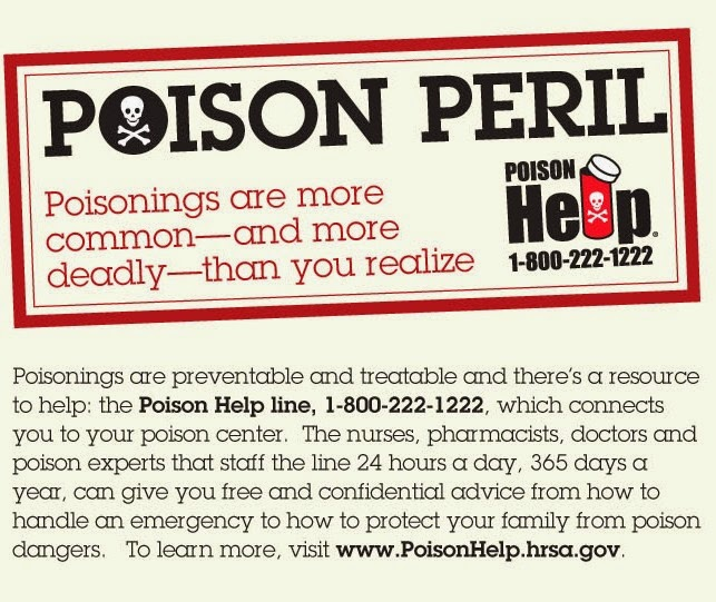 Homeschool Safety Education series: Poison Prevention tips