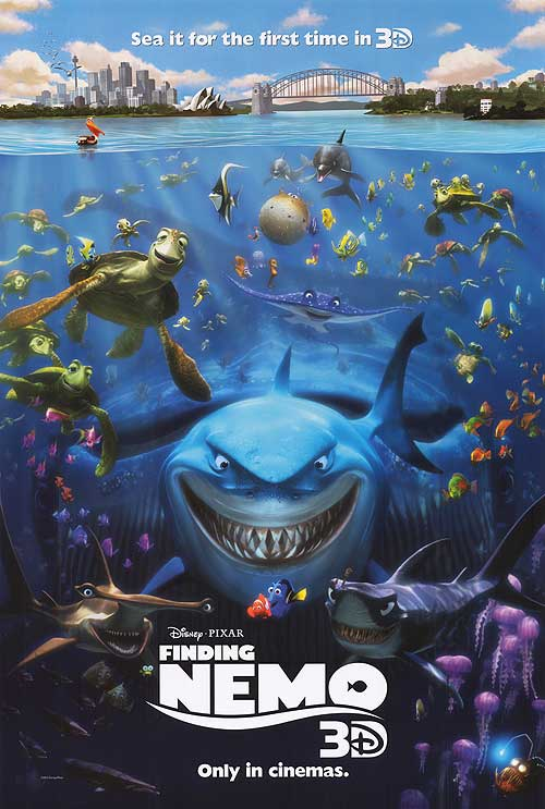 Watch Finding Nemo 3D Movie Online Free 2012