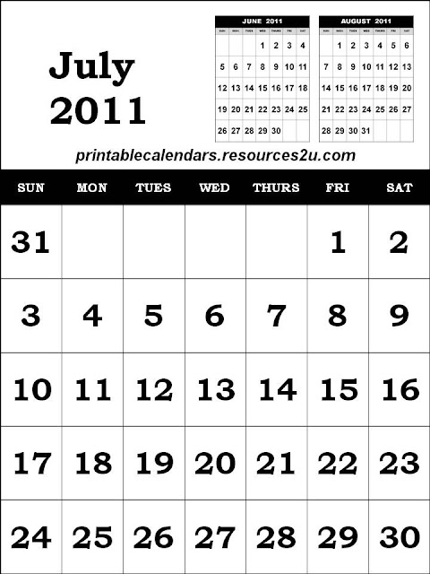 2011 Calendar July. this July 2011 Calendar