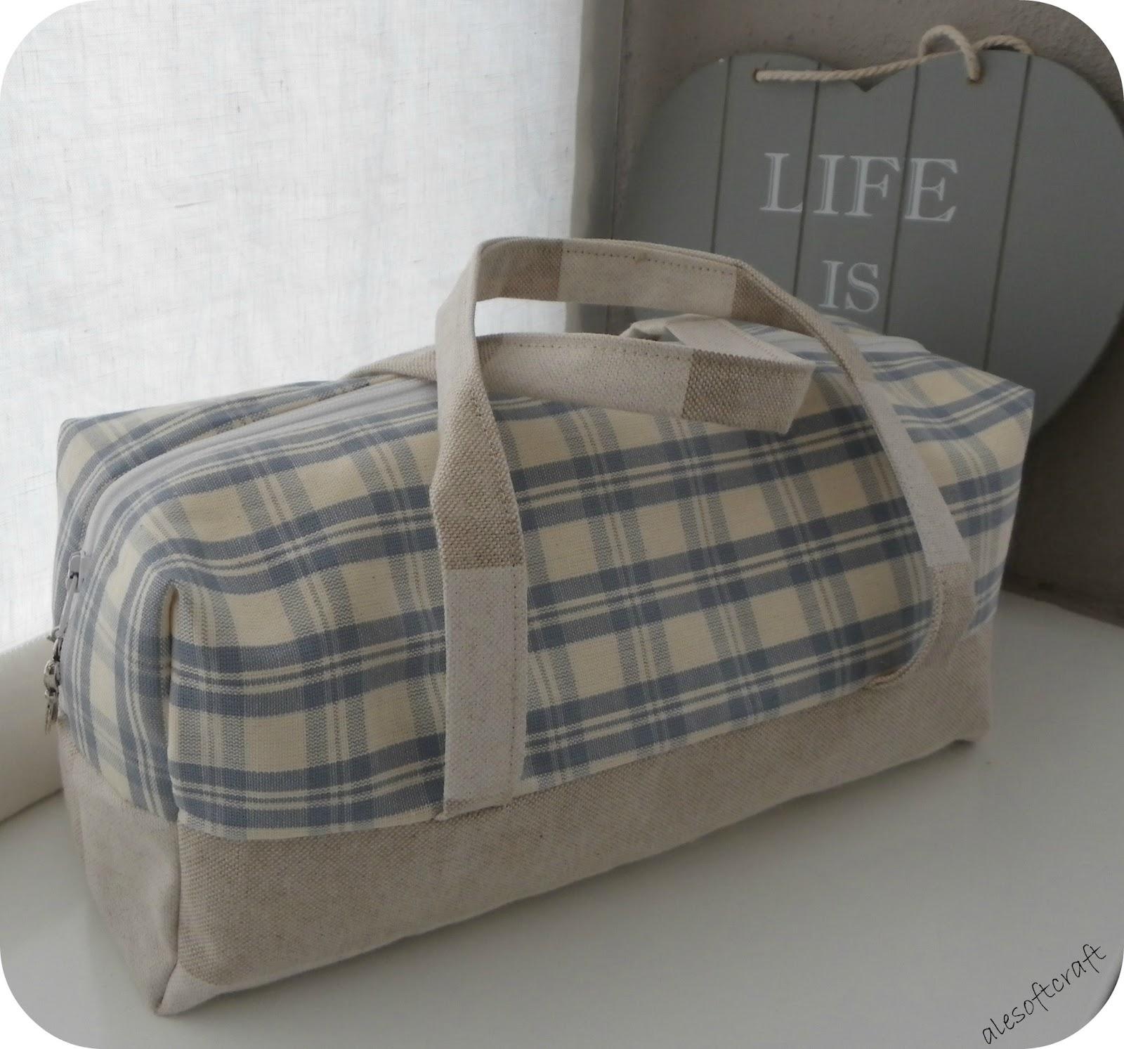 come rendere rigida una borsa di stoffa