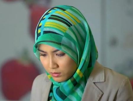 Azminda cantik bertudung labuh dalam Drama Sehangat Asmara (16 Photo