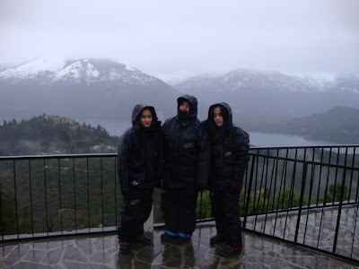 Dia chuvoso no Cerro Campanário - Bariloche