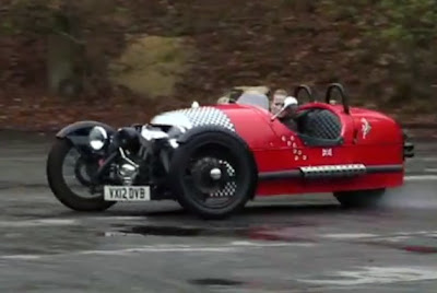 Autocar finds pure joy behind the wheel of Morgan Three-Wheeler