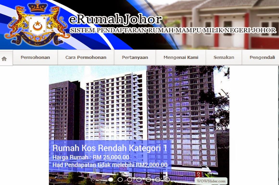Pendaftaran Rumah Mampu Milik Johor