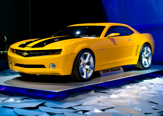 chevrolet camaro bumblebee sport sedan powered monster autocarface. Black Bedroom Furniture Sets. Home Design Ideas